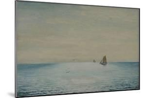 Seascape with a Ketch, Off Adelaide, South Australia by James Ashton