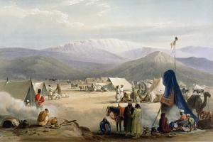 British Army Camp at Dadur at the Entrance to the Bolan Pass, First Anglo-Afghan War, 1838-1842 by James Atkinson