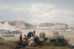 British Army under Canvas at Roree on the Indus, First Anglo-Afghan War, 1838-1842 by James Atkinson