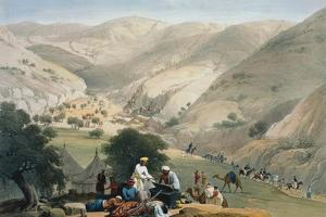 Encampment of the 1st Bengal European Regiment, First Anglo-Afghan War 1838-1842 by James Atkinson
