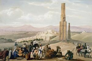Fortress and Citadel of Ghanzi, First Anglo-Afghan War, 1838-1842 by James Atkinson