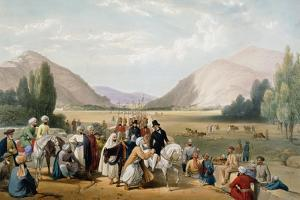 Surrender of Dost Mohammad Khan, Kabul, First Anglo-Afghan War, 1838-1842 by James Atkinson