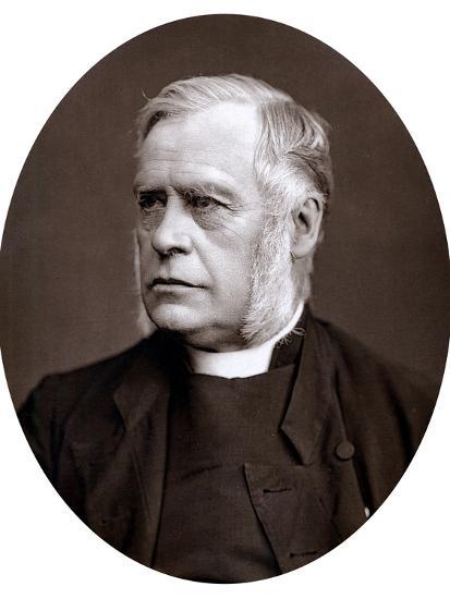 James Atlay (1817-189), English Cleric, 1877--Photographic Print