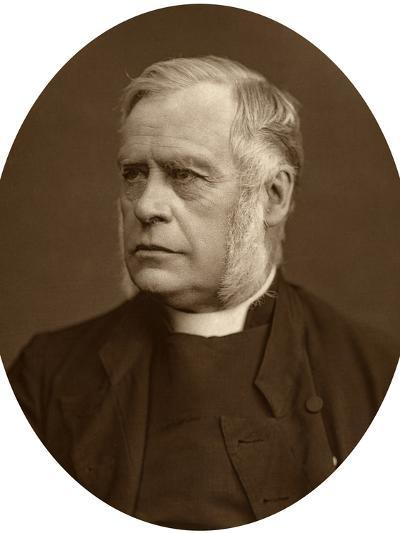 James Atlay, Bishop of Hereford, 1878-Lock & Whitfield-Photographic Print