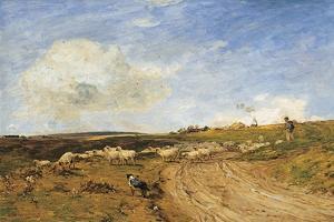 A Breezy Day by James Aumonier
