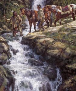 The River Flows Without End by James Ayers