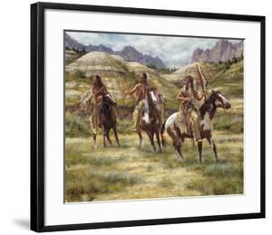 Warriors of the Badlands by James Ayers