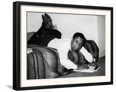 James Baldwin, 1963--Framed Art Print