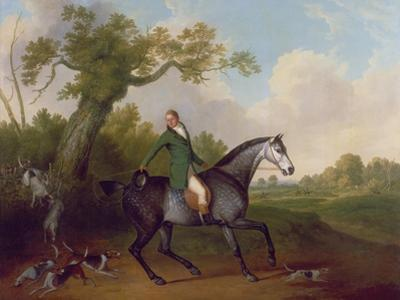 Jonathan Griffin, Huntsman to the Earl of Derby's Staghounds by James Barenger