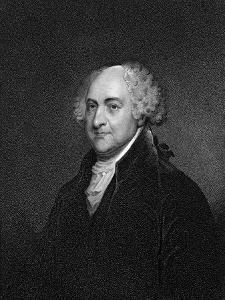 John Adams by James Barton Longacre