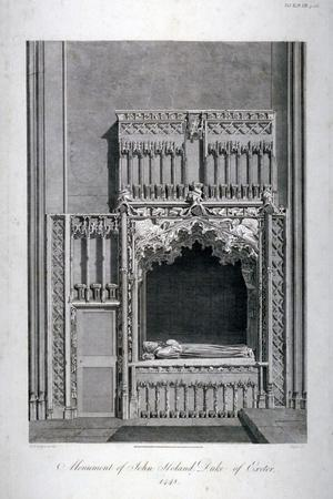 Monument to John Holland, Church of St Katherine by the Tower, Stepney, London, C1810