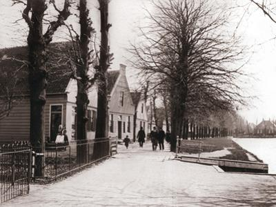 Canal Bank, Broek, Netherlands, 1898 by James Batkin