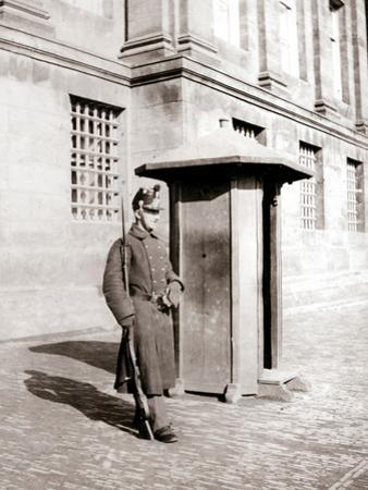 Guard, Brussels, 1898 by James Batkin
