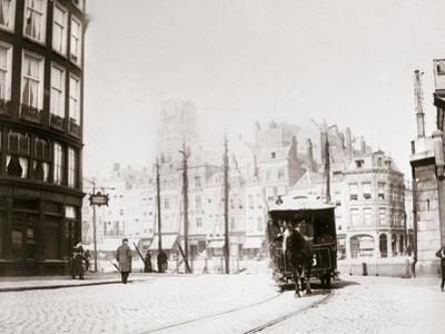 Horse-Drawn Tram, Rotterdam, 1898 by James Batkin