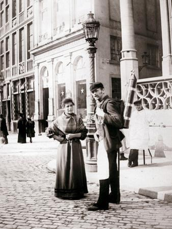 People of Brussels, 1898 by James Batkin