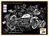 Anatomy of a Motorcycle-James Bentley-Giclee Print