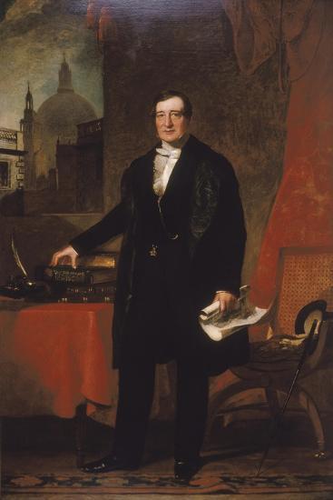 James Bentley, Treasurer of St. Bartholomew's Hospital, 1848-John Preston Knight-Giclee Print