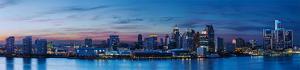 Detroit, MI #5 (Night) by James Blakeway