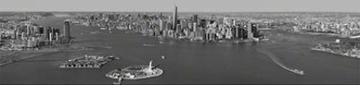 New York, New York - (Black & White)