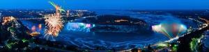 Niagara Falls - Fireworks by James Blakeway