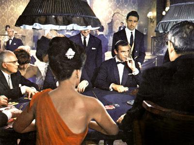 James Bond 007 Contre Docteur No Dr. No De Terenceyoung Avec Sean Connery 1962--Photo