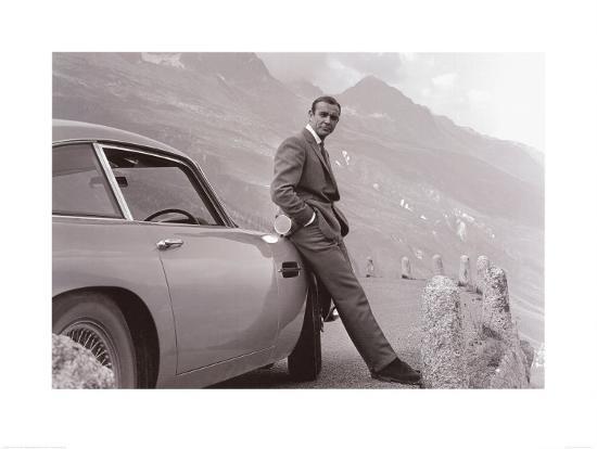 James Bond: Aston Martin--Art Print