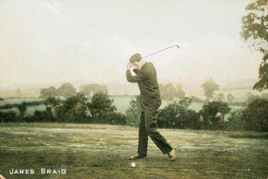 James Braid, Scottish golfer, c1910-Unknown-Giclee Print