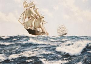 The Clipper 'Fychow' in company by James Brereton