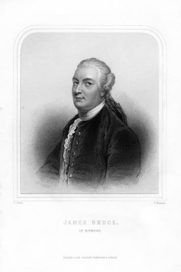 James Bruce, Scottish Traveller and Travel Writer-S Freeman-Giclee Print