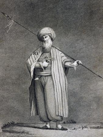Sheikh of Beni Koreish Tribe from Voyage of Discovery of Source of Nile