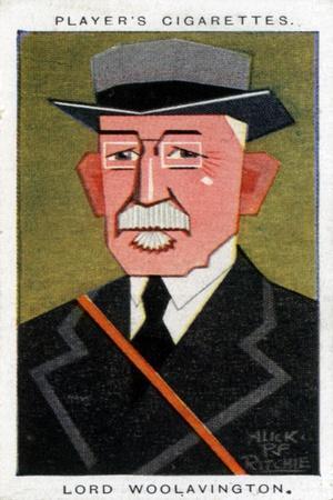 James Buchanan, 1st Baron Woolavington, British Philantropist and Racehorse Owner, 1926-Alick PF Ritchie-Giclee Print