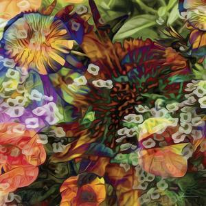 Embellished Eden Tile I by James Burghardt