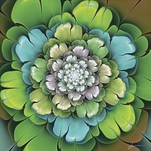 Fractal Blooms I by James Burghardt
