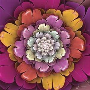 Fractal Blooms II by James Burghardt