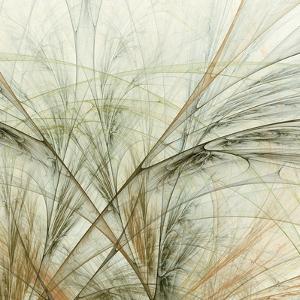 Fractal Grass VI by James Burghardt