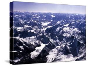 Aerial View of the Himalayas by James Burke