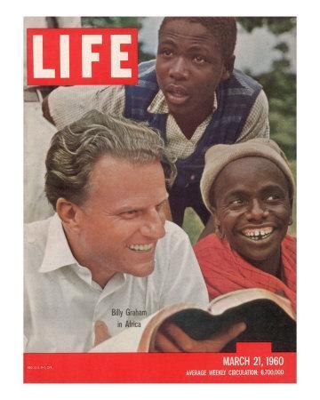 Billy Graham in Africa, March 21, 1960