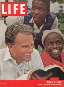 Billy Graham in Africa, March 21, 1960 by James Burke