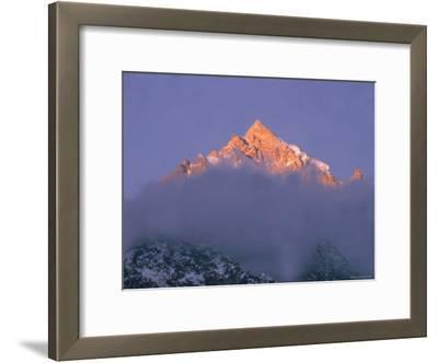 View of Himalayan Mountaintop