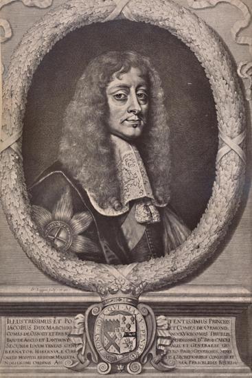 James Butler, 1st Duke of Ormonde, English statesman and royalist soldier, 17th century (1894)-David Loggan-Giclee Print