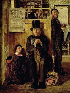 Waiting for Legal Advice, 1857 by James Campbell