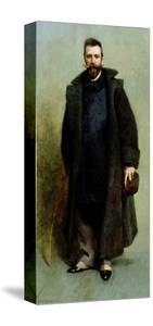 Portrait of William Merritt Chase (1849-1916) 1881-82 by James Carroll Beckwith
