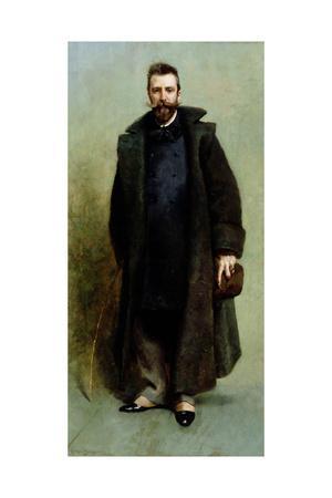 Portrait of William Merritt Chase (1849-1916) 1881-82