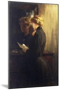The Letter, 1910 by James Carroll Beckwith