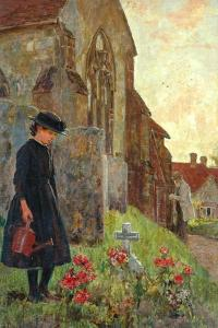Remembrance, 1897 by James Charles
