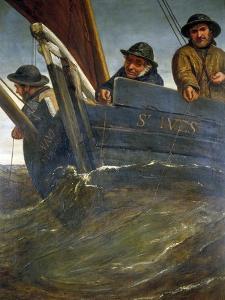 Deep Sea Fishing, 1864 by James Clarke Hook