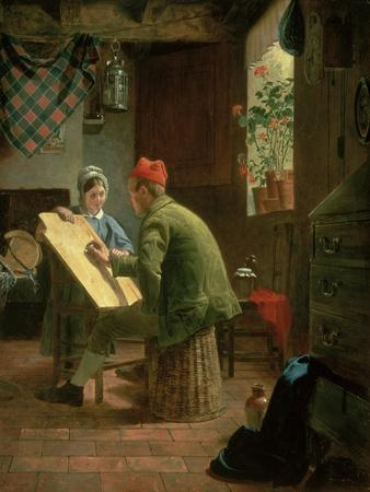 The Writing Lesson, 1855