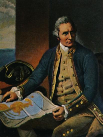 'James Cook 1728-1779. - Stich nach dem Gemälde von Dance', 1934-Unknown-Giclee Print