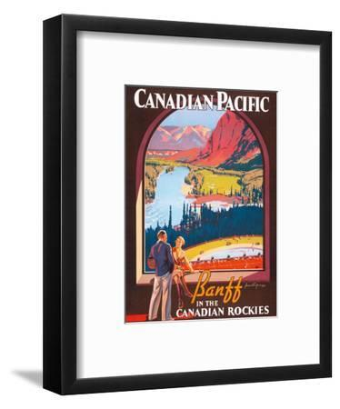 Banff in the Canadian Rockies - Lake Louise, Banff National Park - Canadian Pacific Railway Company
