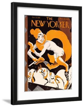 The New Yorker Cover - January 23, 1926 by James Daugherty
